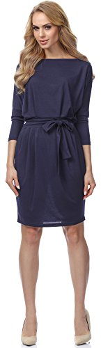 Merry Style Robe pour Femme MSSE0006 Navybleu