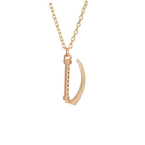 Gudeke Laryngoskop Design Anhänger für Medizinische Geräte Halskette (Gold)