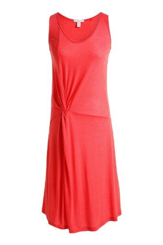 ESPRIT - Robe - Jersey - Col Rond - Sans Manche - Femme noir E001 - Black Corail sexy