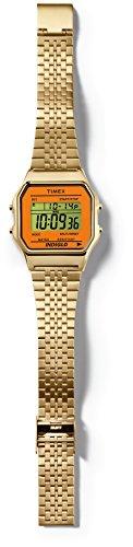 8423f5bf8c0e TIMEX Reloj de cuarzo Unisex Unisex Timex 80 Classic Dorado   Naranja 34 mm
