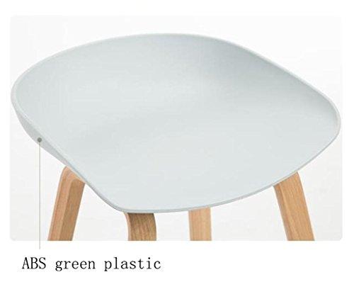 Gzd sgabello alto sgabelli moderni da cucina con gambe in legno