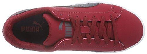 Puma Puma Smash Buck, Unisex-Erwachsene Sneakers Rot