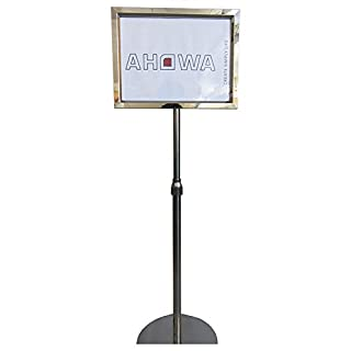 AHOWA Kundenstopper/Plakatständer/ Infoständer in Din A3 querformat