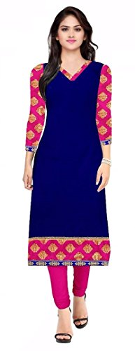 Kurti For Women Party Wear Summer Sale Offer Semi_Stiched Printed Pure Cotton...