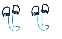 Zakk Air In-Ear Bluetooth Earphone with Mic Combo [2 zakk Blue]