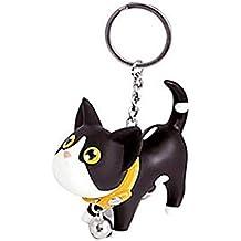 Gatito del Gato Llavero Animal de la Historieta de Bell Pequeño Llavero de Metal Mujeres Estudiante