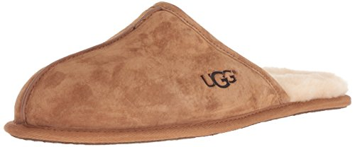 UGG Herrenschuhe - Hausschuhe SCUFF 1101111 - chestnut, Größe:46 EU (Uggs Herren Hausschuhe Leder)