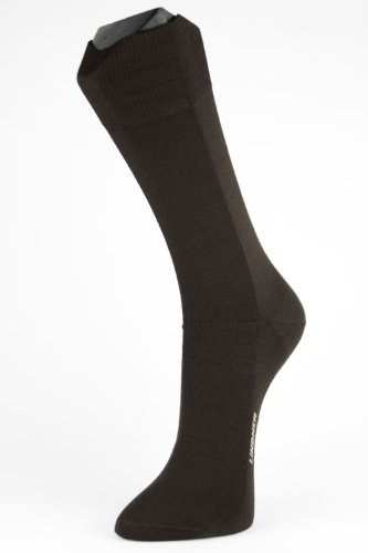 Lindner socks Zinksocken - Neurodermitikersocken, 41-43, schwarz