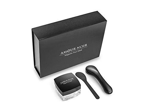 Amour Noir Luxuriöse magnetische Gesichtsmaske. Unglaubliche Inhaltsstoffe. Für alle Hauttypen. In einer schönen Geschenkbox verpackt -