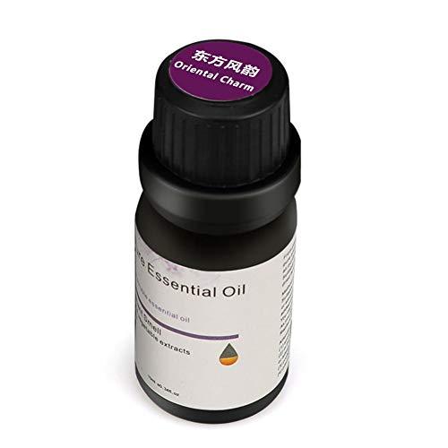 Everpert Aromatherapie Ätherische Öle für Diffuser,100% Pure Aroma Duftöle,-10ml (orientalischer Charme) -