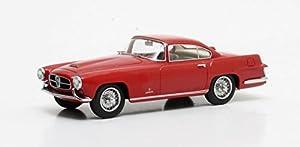 Matrix MX41001-012 Jaguar XK140 GHIA Coupe 1955 - Coche en Miniatura (Escala 1/43), Color Rojo