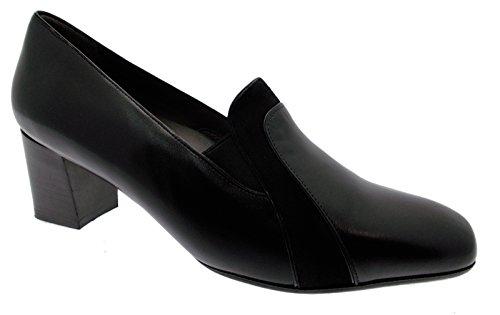 36ff72c638 Art Femme Chaussure X5463 col Classique Chausson en Cuir Noir