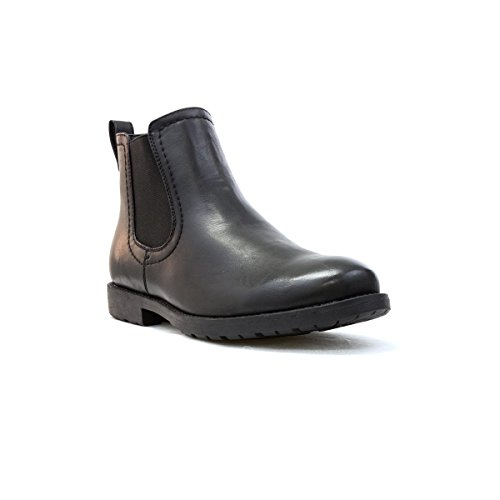 Beckett Mens Black Chelsea Boot - Size 10 UK - Black