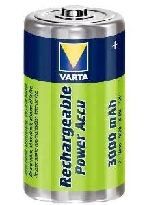 Varta Rechargeable Power Accu R2Use D LR20 (Mono) pack of 1 3000mAh Energy Univer