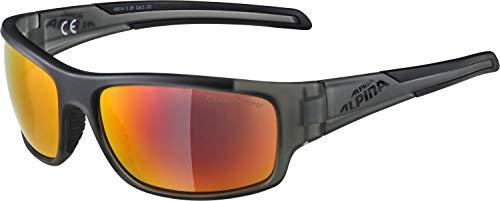 Alpina Fahrradbrille Brille Sonnenbrille Brille TESTIDO, anthracite matt-black