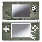 Design Folie Spielkonsolen Skins Nintendo DS Lite - Fan Artikel Fußball Football Splash
