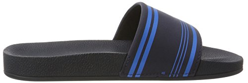 Rider R86 Ad, Sandales Bout ouvert mixte adulte Mehrfarbig (blue/blue)