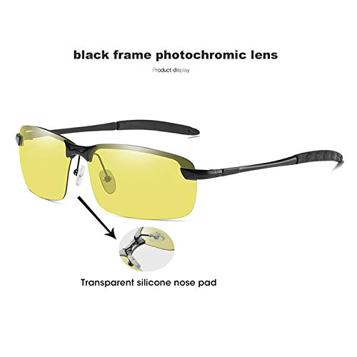 8b35addc7 AOCCK NEW Brand Intelligent Photochromic Polarized Sunglasses Men Women Yellow  Lens Day Night Vision Driving Sun
