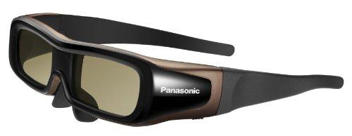 Panasonic TY-EW3D2LE Aktive Shutterbrille für 3D Viera TV schwarz/bronze Größe L