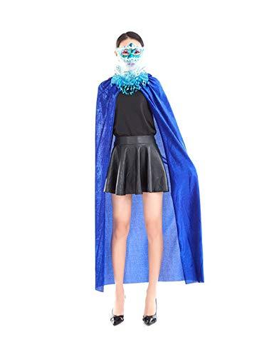 Zhhlaixing Dünn Umhang Halloween - Elegant Rollenspiel Kostüm -