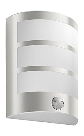 Philips luminaire extérieur LED applique murale avec détection Python inox
