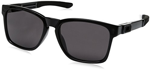 Oakley Herren Sonnenbrille Catalyst Black Ink, 56 mm