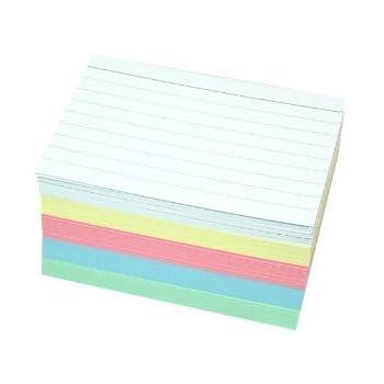 Farbe 500 Herlitz Karteikarten DIN A8 weiß liniert