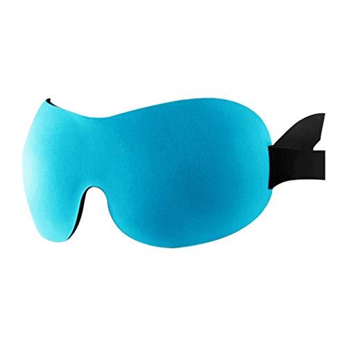 JFya Augenmaske Schlaf Schatten Augenmaske 3D Stereo Licht atmungsaktiv Schattierung Unisex Negativ Ion (Farbe : B)