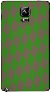 Timpax protective Armor Hard Bumper Back Case Cover. Multicolor printed on 3 Dimensional case with latest & finest graphic design art. Compatible with Samsung Galaxy Note 4 Design No : TDZ-22155