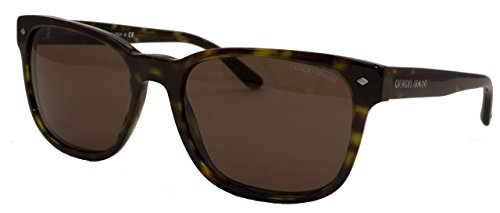Armani Unisex AR8049 Sonnenbrille, Braun (Brown 502653), One size (Herstellergröße: 56)