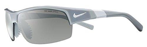 Nike Herren Show X2 Ev0620 010 69 Sonnenbrille, Weiß (Wlf/WhtW/GryW/SlvrFls),