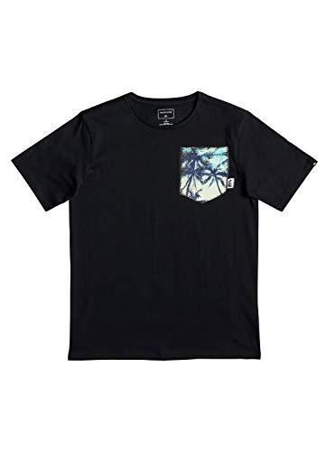 Quiksilver Jungen Byron Boogie T-Shirt, Black, L/14 - Quiksilver-jungen Kleidung