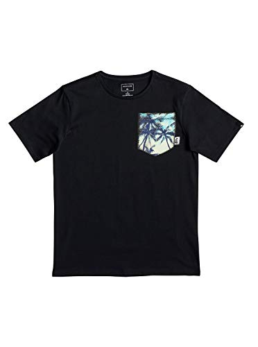 Quiksilver Jungen Byron Boogie T-Shirt, Black, L/14 -