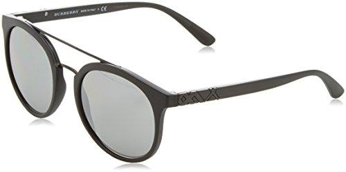 245 34646G 53 Sonnenbrille, Schwarz (Black/Grey) ()