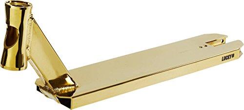 Lucky Jon Marco Sign Prospect Stunt-Scooter Deck Gold inkl Griptape