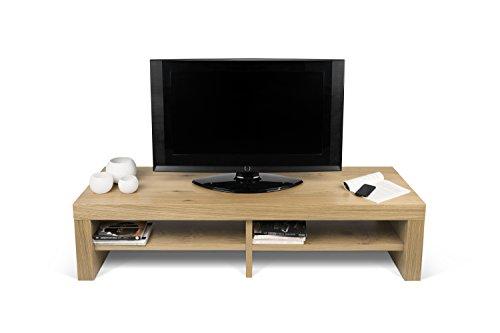 Temahome fusion mobile porta tv, legno, rovere, 154x49x37 cm