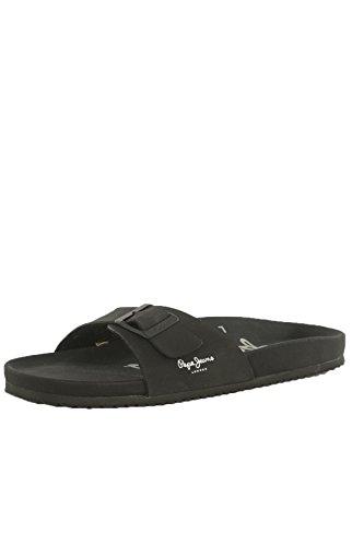 Pepe jeans - Bio royal single noir - Claquettes mules 2f1a1da377eb