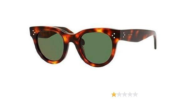 eacb8ed5b47 Celine 41053 S 05D Havana Baby Audrey Cats Eyes Sunglasses Lens Category 3  Size  Amazon.co.uk  Clothing