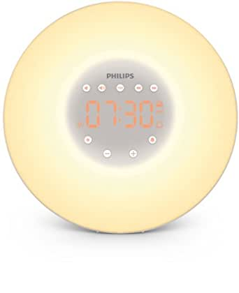 Philips HF3505/01 Wake-up LED Light with built in FM Radio and Bedside Lamp