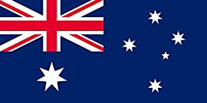magFlags Flagge: Large Australia converted | Australia | Querformat Fahne | 1.35m² | 80x160cm » Fahne 100% Made in Germany