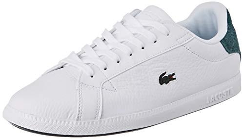 Lacoste Damen Graduate 319 1 SFA Sneaker, Weiß (Wht/Dk Grn 1r5), 39 EU