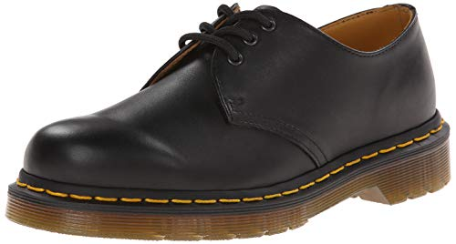 Dr. Martens 1461Z Smooth Cherry, Scarpe basse stringate Unisex - Adulto, Nero (Black Smooth Z Welt), 36 EU (3 uk)