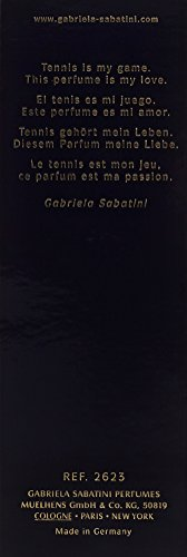 GABRIELA SABATINI Sabatini EDT Vapo 60 ml
