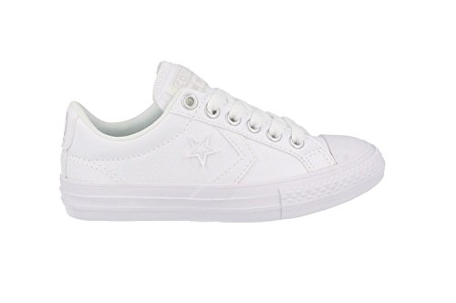 Converse Youths Star Player EV Ox Synthetic Trainers white