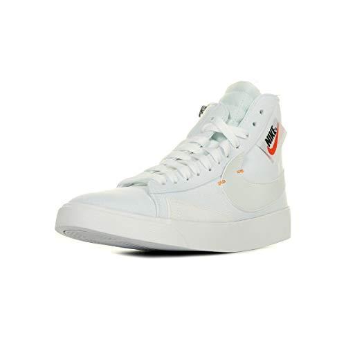 Nike Damen W Blazer Mid Rebel Basketballschuhe, Mehrfarbig Platinum Tint/Summit White 102, 39 EU -