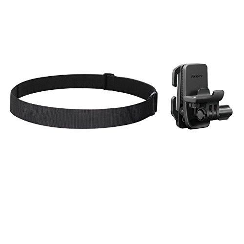 Sony BLT-CHM1 Kopfmontage Kit (Zubehör Montage Kit für Helm, Brille und Kopf, geeignet für Action Cam FDR-X3000, FDR-X1000, HDR-AS300, HDR-AS200, HDR-AS50) schwarz (Sony Kamera-kopf)