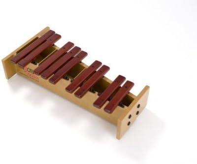 Armonía Range Soprano cromática mitad xilófono
