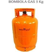 1713058 bombona 5 kg recargable de camping vacía Casa Camping Barbacoa Cocina