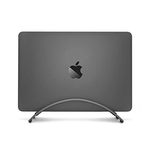 Twelve South BookArc für MacBook , Platzsparender vertikaler Tischständer für Apple Notebooks (space grau)