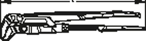 GEDORE Eck-Rohrzange 3 Zoll, 1 Stück, 9100 2K 3